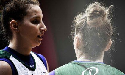 """Basket femminile, Laura Spreafico: """"E' stato un immenso piacere tornare in azzurro"""""""