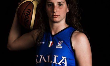 Basket femminile, l'assese Laura Spreafico nella long list azzurra verso l'EuroBasket