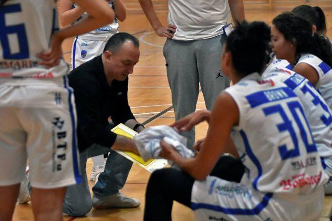 Basket comasco coach Walter Montini