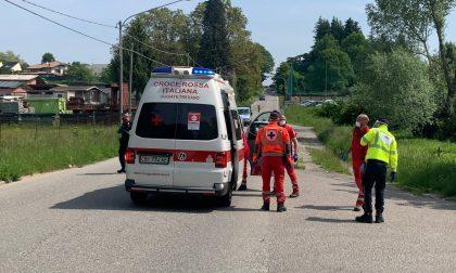 Cade della bici a Faloppio, grave un 36enne FOTO