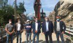 Frana a Lezzeno da venerdì l'apertura a senso unico alternato FOTO