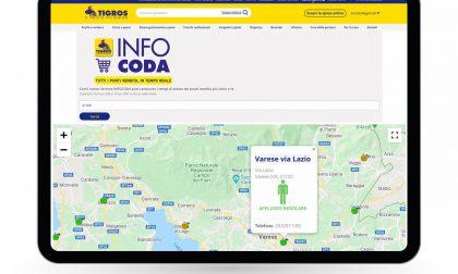 Fare la spesa da Tigros: i tempi d'attesa sono consultabili online