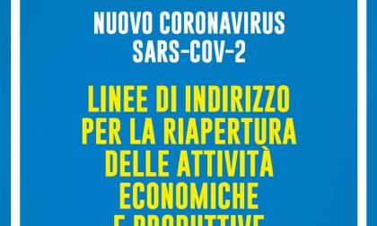 Regione Lombardia: linee di indirizzo per la riapertura delle attività economiche e produttive