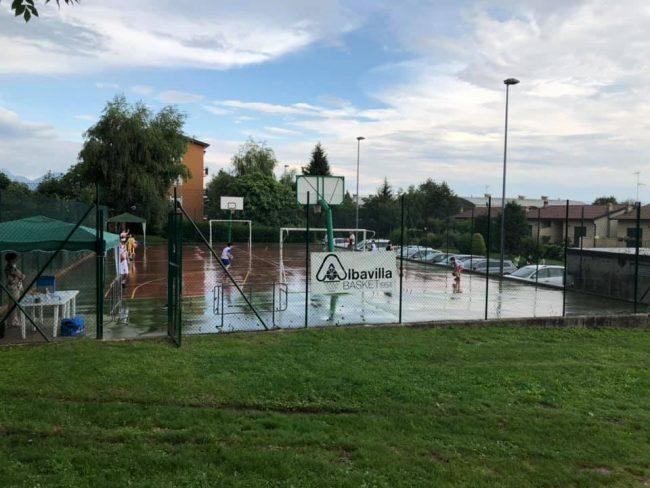 Basket lariano allenamenti ad Albavilla