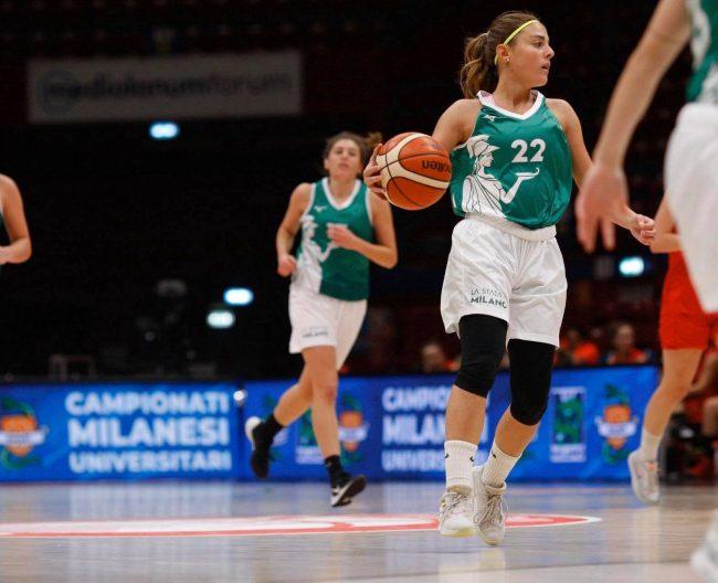 Basket femminile Alessandra De Ponti a Mariano