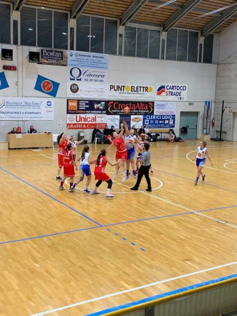 Basket lariano GS Villa Guardia in campo