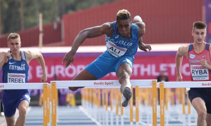 Atletica leggera il comasco Chituru Ali vola con l'azzurro agli Europei indoor