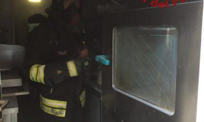Incendio al ristorante Il Fagiano di Moltrasio FOTO