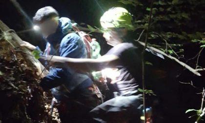 Coppia di escursionisti si perde nel bosco, trovati nella notte FOTO