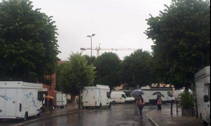 """Mercato di Erba, gli esercenti scioperano: """"Impossibile lavorare così"""" FOTO"""