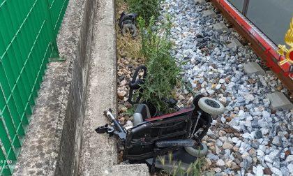 Incidente a Mariano: una donna è stata investita dal treno, arriva l'elisoccorso FOTO
