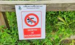 A Montorfano, attenzione ai divieti di balenazione: posizionati i cartelli