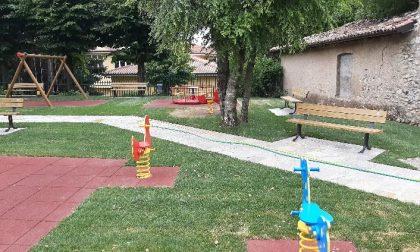 Nuovo parco giochi per i bambini di Proserpio: domenica l'inaugurazione