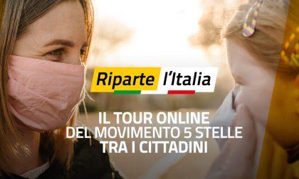 """Currò presente per la tappa lombarda di """"Riparte l'Italia"""""""