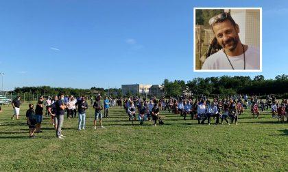 All'addio a Massimo Bilardello anche i suoi ragazzi in divisa VIDEO e FOTO