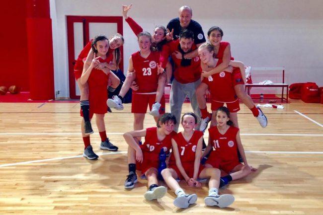 Basket femminile baby SCB