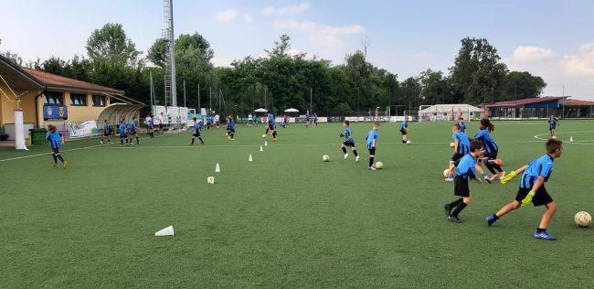 calcio giovanile Castello città di cantù open days