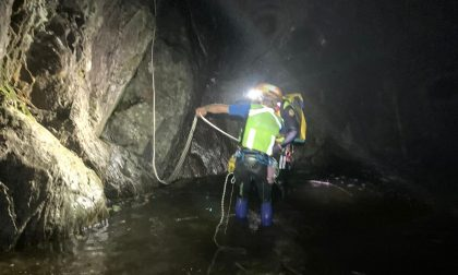 Paura per tre turisti svizzeri: il buio e la pioggia li hanno intrappolati nella gola del torrente Bares