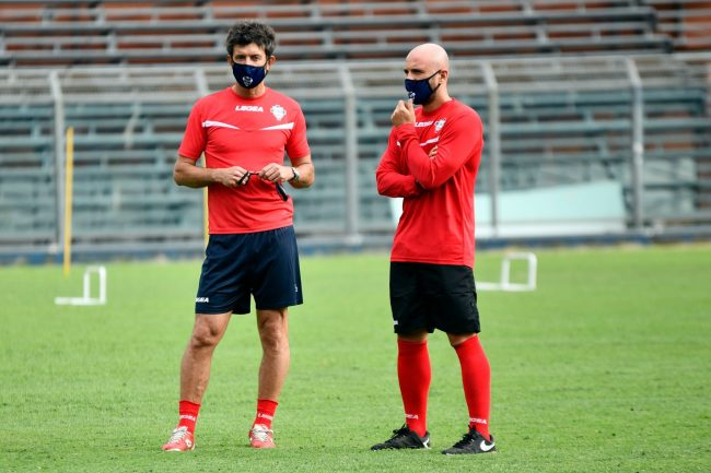 Como calcio mr Banchini e gattuso