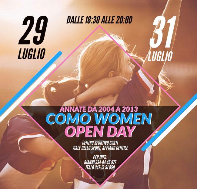 Como Women Open days