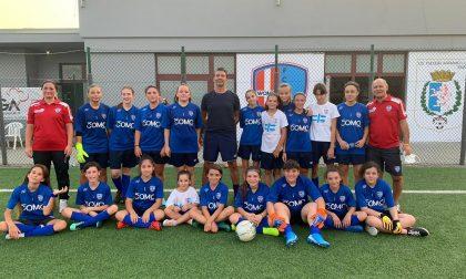 Como women oggi secondo Open day al centro sportivo di Appiano Gentile