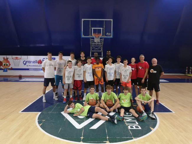 Basket estivo Cucciago BUlls camp Be able