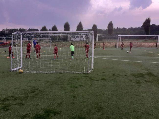 Calcio giovanile FCd Bulgaro ripresa