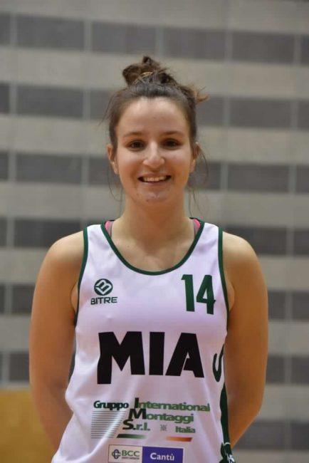 Basket femminile Gaia Frigerio