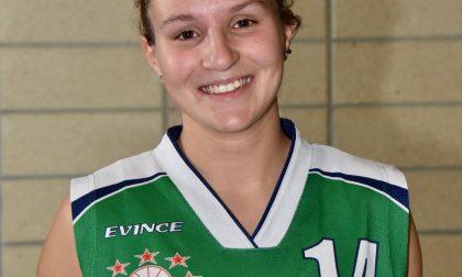 Basket femminile Gaia Frigerio da Mariano passa a Valmadrera ma resta in B