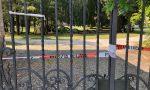 Pianta caduta, chiuso l'ingresso principale del parco comunale
