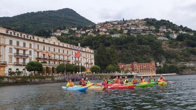 canottieri Moltrasio open days kayak