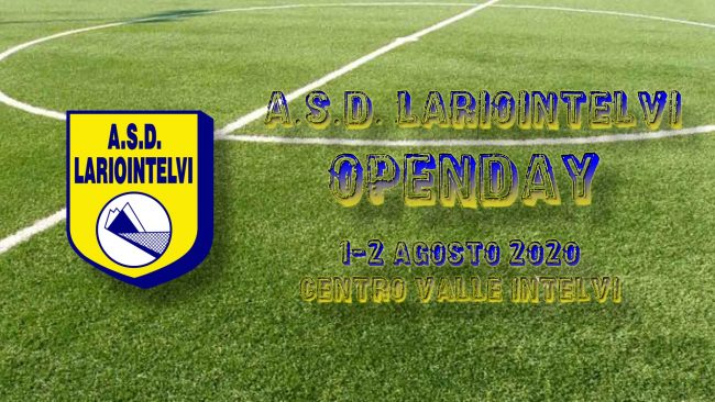 calcio giovanile Open days Asd Lario Intelvi