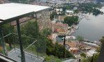 Ascensore panoramico a Riva del Garda realizzato dall'azienda comasca Maspero Elevatori