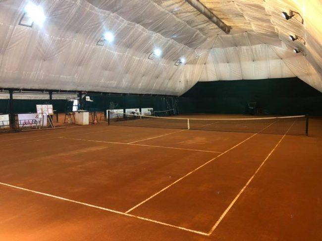 tennis lariano i campi in terra Rossa del TC mariano