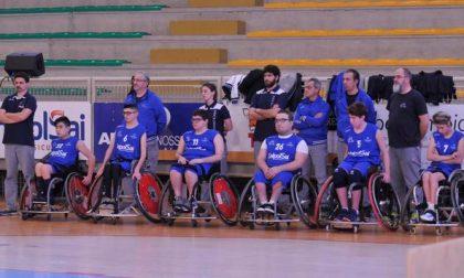 Basket in carrozzina Briantea 84 Cantù il massimo campionato scatterà il 21 novembre