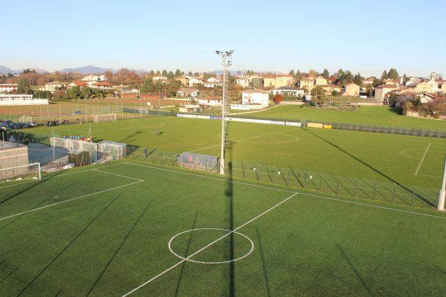 Calcio giovanile il campo sportivo Venianello