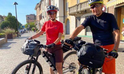 In bici per promuovere il turismo slow: partita l'avventura dei marianesi