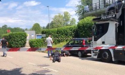 Olgiate: artificieri al lavoro su un'auto in via Torino, è connessa all'assalto al bancomat VIDEO