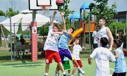 Basket estivo in moto l'organizzazione del Blackcourth day camp
