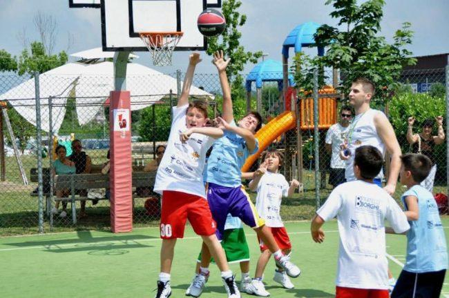 basket estivo 3 contro 3 a Cucciago