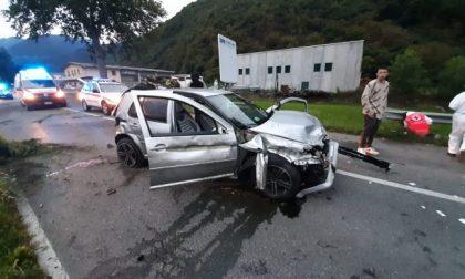 Incidente sulla vecchia Statale 38, grave automobilista investito