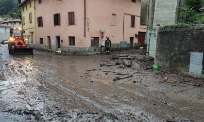 Maltempo nel Comasco 50 interventi per i Vigili del fuoco FOTO