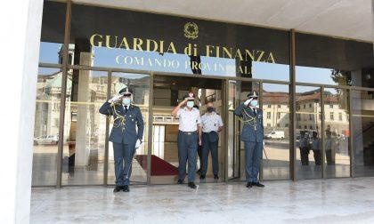 In visita a Como e Oria il comandante regionale delle Fiamme Gialle Stefano Screpanti