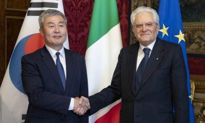 L'Ambasciatore sudcoreano in visita a Como alla Fondazione Volta