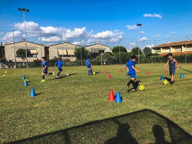 Calcio giovanile Binaghese vivaio