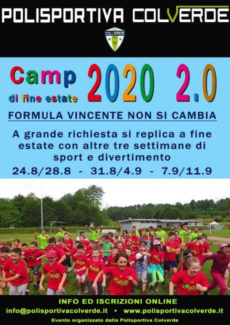 Pol Colverde camp estivo