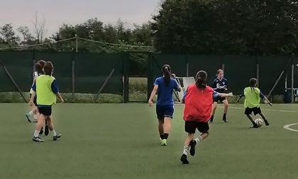 Calcio femminile primi allenamenti per le Allieve nazionali Under17 tra sudore e sorrisi
