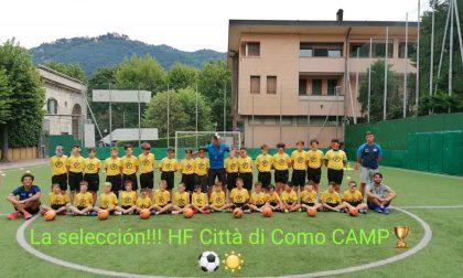 Calcio giovanile tutto pronto per l'HF Città di Como Summer Camp