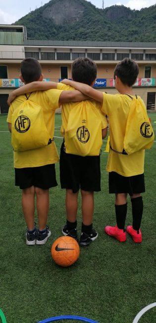 calcio giovanile HF Città di Como camp
