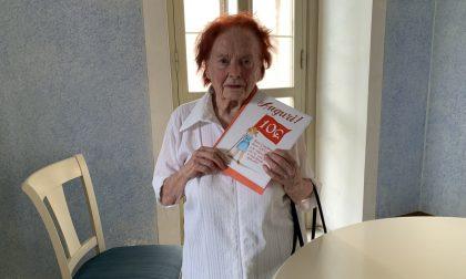 Anna la pasionaria, l'ultima staffetta partigiana compie 100 anni